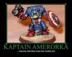 Warhammer 40k Orks.