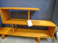 groovy display unit, possibly handmade -- Mid Century Modern Booth X-11-- only $39