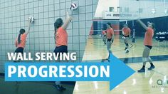 Train your players to have the proper technique with these serving progressions.