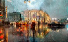 Free High Resolution Wallpapers for Android, iPhone and Computers. Urban Painting, Under The Rain, Red Umbrella, Places Around The World, Embedded Image Permalink, Nice View, Hd Wallpaper, Wallpapers, Art Photography