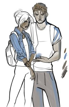 Artemis Crook and Wally West.