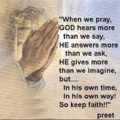 Library, Spiritual Healing...Pray, Believe & Wait