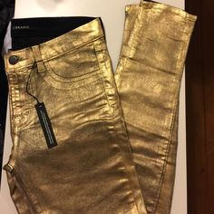 J Brand Coated jeans size 27 Never worn outside of trying them on.  Perfect condition. J Brand Jeans Skinny