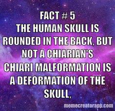 Chiari 1 Malformation ..Chiari Warrior's Life 💜