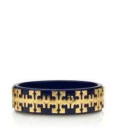 Tory Burch tiled logo bangle