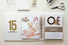 25 Days | 2015: 16: Day 11 with Peppermint, Nina & Kellie - Scrapbooking Kits, Paper & Supplies, Ideas & More at StudioCalico.com!