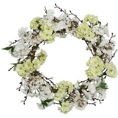Faux Blossom Wreath  at Joss and Main