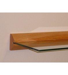 floating shelf wood and glass image floating