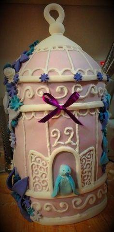 Birdcage Cake! https://www.facebook.com/cabrellicakes