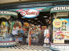 The Disney Store! - This is how I remember it! Used to get my MMC gear here.