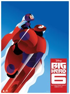 "EXCLUSIVE! The Poster Posse Is Back With Phase 3 Of Our Officially Licensed Collaboration With Disney Animation For ""Big Hero 6″"