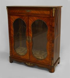 French Victorian cabinet/case-piece cabinet kingwood