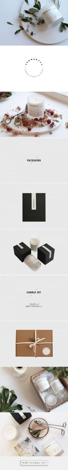 Candle Branding and Packaging by Haeyeong Park Candle Branding, Candle Packaging, Mini Candles, Soy Candles, Strong Scented Candles, Packaging Design, Branding Design, Candle Making Business, Romantic Candles