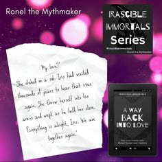 A quote from the ninth book in the Irascible Immortals series, A Way Back Into Love Together Again, We Are Together, Book Club Questions, Everything Will Be Alright, Quick Quotes, Book Club Books, Dark Fantasy, On Set, Book Quotes