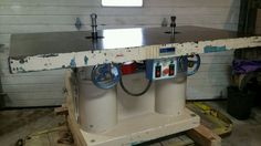 Double Spindle Shaper 7.5hp 1.25in spindles 220/440v Champ Fond