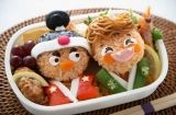 This site has lots of fun bento ideas! Though I have a feeling the english translation isn't terribly accurate. The pictures will have to do.