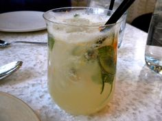 Cucumber-Citrus Skinny Margarita from True Food Kitchen