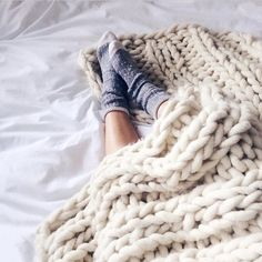 I want heaps of these blankets... and some for the kids and one for Stu when he's kipping on the couch..