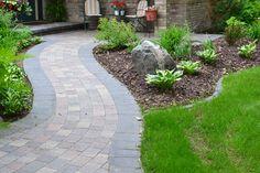 Sidewalks.  #bemidji #landscaping #landscapedesign #yardwork #finishingtouchlandscaping