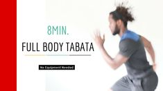Quick 8min Full Body Tabata Workout || Perfect For Days When Time Is Short