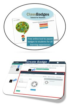 •Free online tool to award badges to students for all learning experiences and academic mastery.  This tutorial explains the features in ClassBadges so that teachers will be able to effectively use this online tool in their classes.