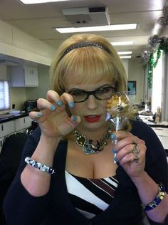 Kirsten Vangsness's grrrrr face hhahaha I love her posted by Totten Totten Fleiner Female Actresses, Actors & Actresses, Kirsten Vangsness, Criminal Minds Cast, Matthew Gray Gubler, My Baby Girl, Pretty People, Favorite Tv Shows, Beauty