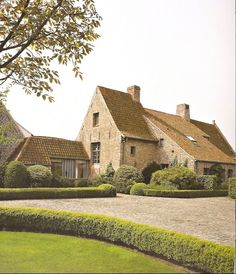 timeless Belgian country house