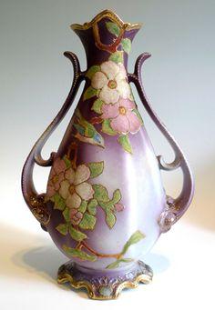 オールドノリタケ, ノリタケ, Nippon Vase, Nippon Coralene, www.oldnoritakeshop.com