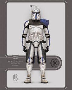 Star Wars Clone Wars, Star Wars Rpg, Star Wars Concept Art, Star Wars Fan Art, Guerra Dos Clones, Star Wars Timeline, 501st Legion, Star Wars Facts, Galactic Republic