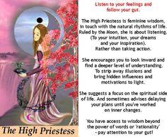 THE HIGH PRIESTESS http://tarotromance.com/