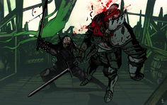 JAKUB REBELKA — WITCHER MEMORIES / some of the illustrations for...