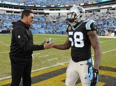 Carolina Panthers' Star Thomas Davis Earns Praise Off The...: Carolina Panthers' Star Thomas Davis Earns… #Panthers #CarolinaPanthers