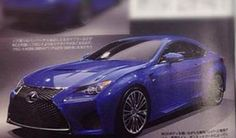 Lexus RC F Coupe Leaked 600x353 at Lexus RC F Coupe First Picture Leaked