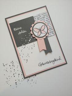 Stempellicht: Geburtstagskarte ...mein Beitrag zur Match the Ske...