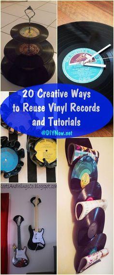 1000+ ideas about Vinyl Record Crafts on Pinterest ...