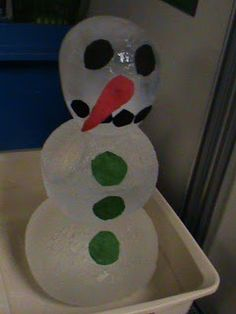 The Frugal Teacher: The Life Cycle of a Snowman! How cool is this for talking about states of matter