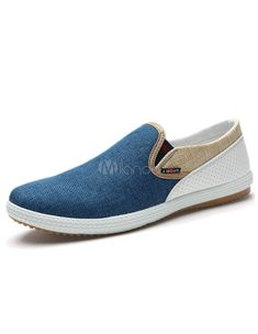 30eb89f93 Flats fashion slip on Canvas shoes men driving loafers mocassins