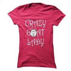 Crazy goat lady - #tshirt #vintage t shirt. GET YOURS => https://www.sunfrog.com//Crazy-goat-lady-HotPink-Ladies.html?id=60505