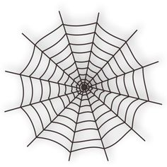 Halloween_Spider_Web_Icon_Vector_Clipart.png ❤ liked on Polyvore featuring halloween