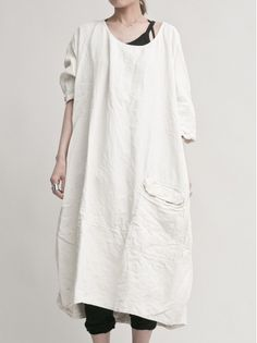 RUNDHOLZ DIP Oversize one‐piece dress