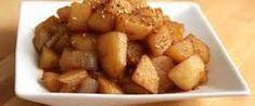 Korean Potatoes - List of the best food recipes Korean Side Dishes, Korean Potato Side Dish, Korean Potatoes, Potato Side Dishes, Vegetable Side Dishes, Side Dish Recipes, Asian Recipes, New Recipes, Favorite Recipes