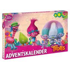 Trolls Adventkalender 53998