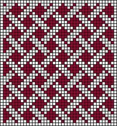 Risultati immagini per geometric filet crochet chart Tapestry Crochet Patterns, Fair Isle Knitting Patterns, Knitting Charts, Weaving Patterns, Knitting Stitches, Bead Patterns, Filet Crochet, Crochet Chart, Cross Stitching