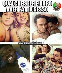 * I selfie a letto