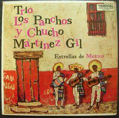 TRIO LOS PANCHOS Y CHUCHO MARTINEZ GIL ESTRELLAS DE MEXICO #LatinPop