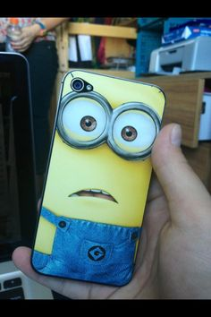Ok so cute better get one of this phone case and every one is going to want one to when the dispicable me 3 aka minion movie I love it