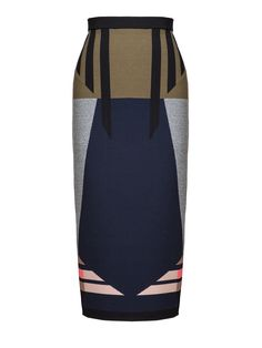Jonathan Simkhai | Blue Broken Arrow Midi Skirt | Lyst