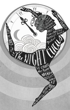 The Night Circus  Book cover for 'The Night Circus' - commissioned by Random House    by sara mulvanny