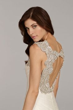hayley-paige-bridal-english-net-fit-flare-ruched-horsehair-trim-flounced-alabaster-crystal-keyhole-chapel-6411_x3.jpg 500×750 pixels