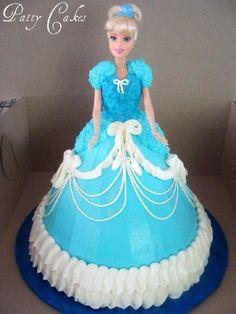 barbie cake tutorial - Google Search